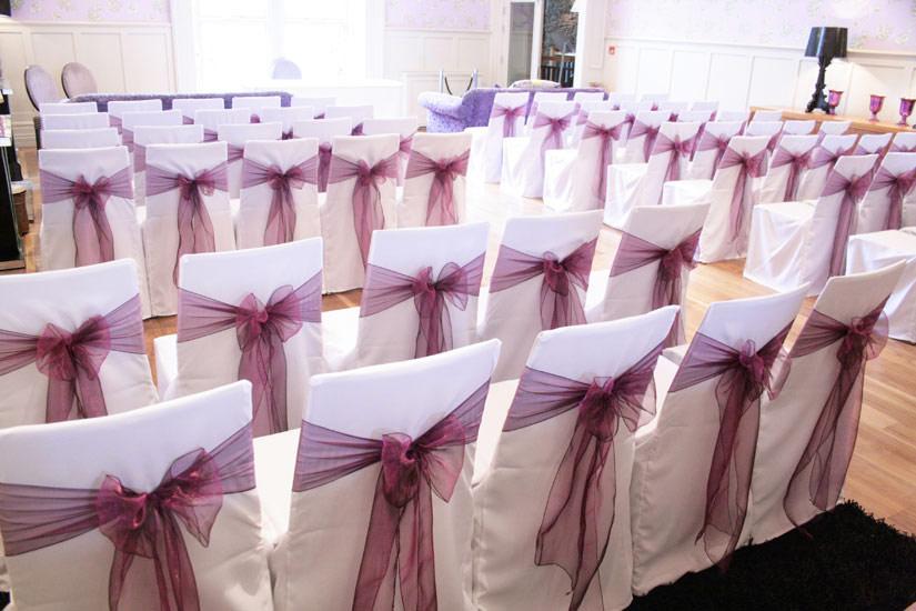 Wedding Venue Dressing Chair Covers Cumbria The Lake