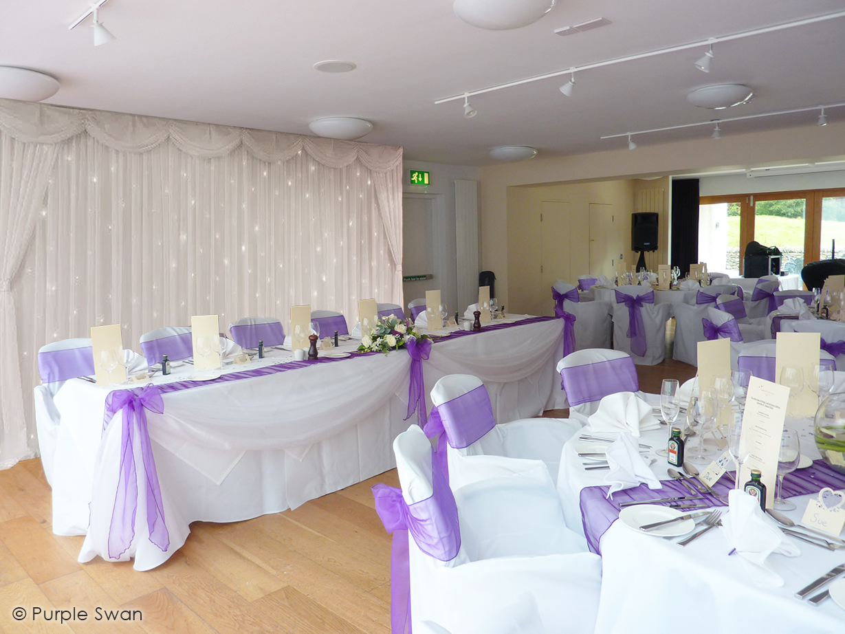 Wedding Venue Decoration Cumbria Lake District