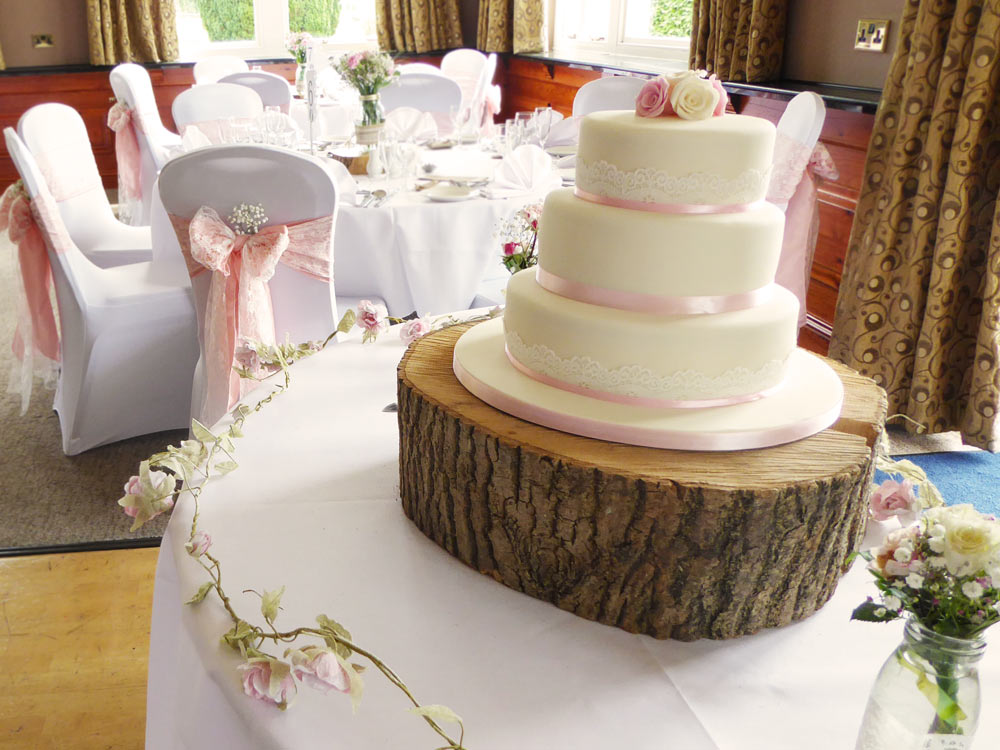 wooden wedding cake stand hire wedding props for hire cumbria 27602