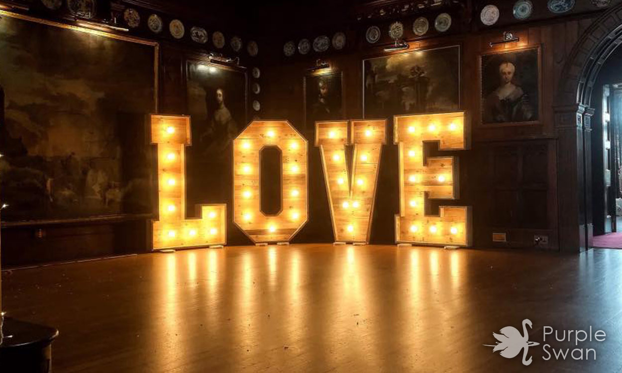 Love Letters To Hire For Weddings Cumbria