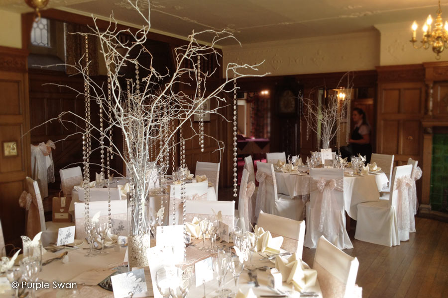 Wedding Crystal Tree Hire Blossom Branch Centrepiece