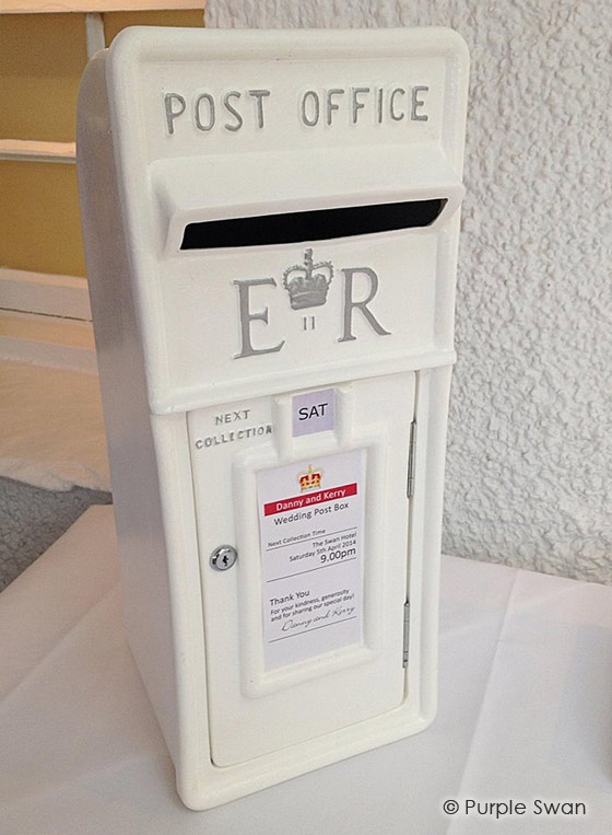 Wedding Post Box Hire Cumbria Lake District Lancashire