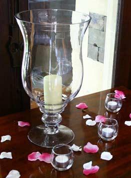 Lily Vase Hire Hurricane Vase Hire Wedding Table