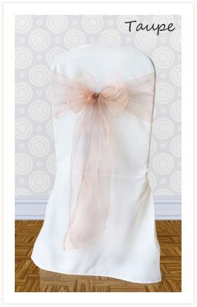 26a482245a7b8 Chair Sash Hire for Weddings