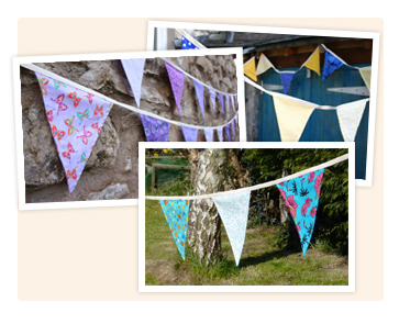 Our range of handmade Bunting